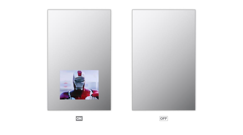 Vanishing Mirror Tv Lumidesign